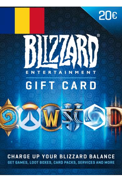 BATTLE.NET GIFT CARD 20€ (EUR) (Romania)