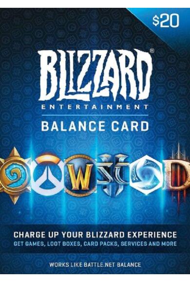 Battle.net Gift Card 20$ (USD)
