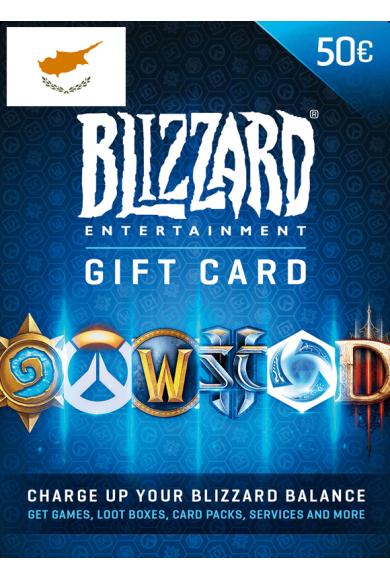 Battle.net Gift Card 50€ (EUR) (Cyprus)