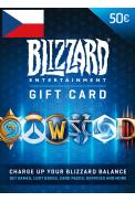 Battle.net Gift Card 50€ (EUR) (Czech Republic)