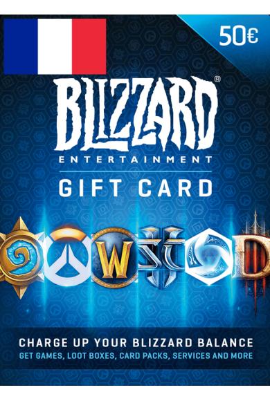 BATTLE.NET GIFT CARD 50€ (EUR) (France)