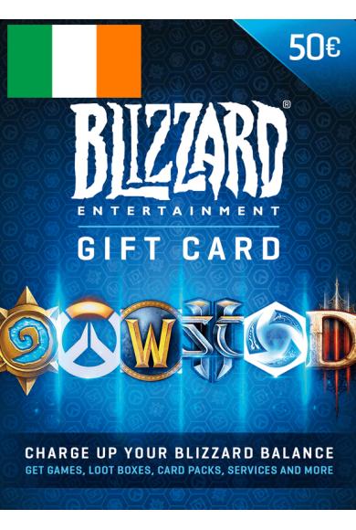 BATTLE.NET GIFT CARD 50€ (EUR) (Ireland)