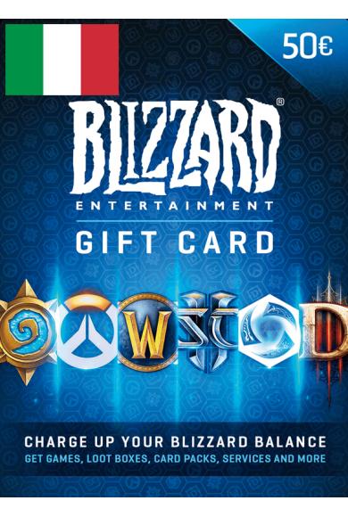 BATTLE.NET GIFT CARD 50€ (EUR) (Italy)