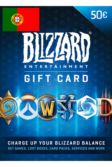 BATTLE.NET GIFT CARD 50€ (EUR) (Portugal)
