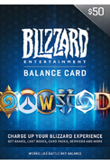 Battle.net Gift Card 50$ (USD)