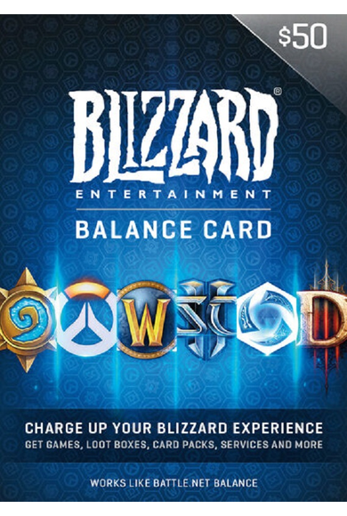 Battle.net Gift Card 50$ (USD)