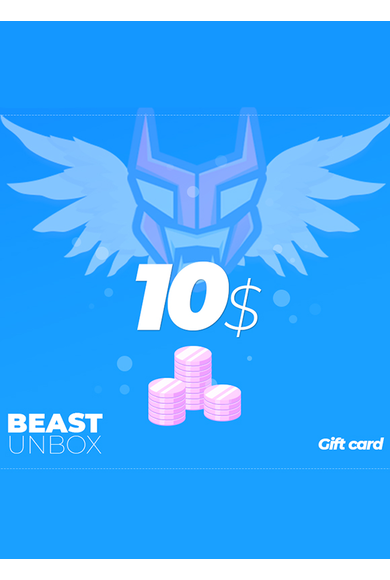 BeastUnbox.com Gift Card 10$ (USD)