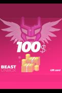 BeastUnbox.com Gift Card 100$ (USD)