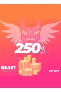 BeastUnbox.com Gift Card 250$ (USD)