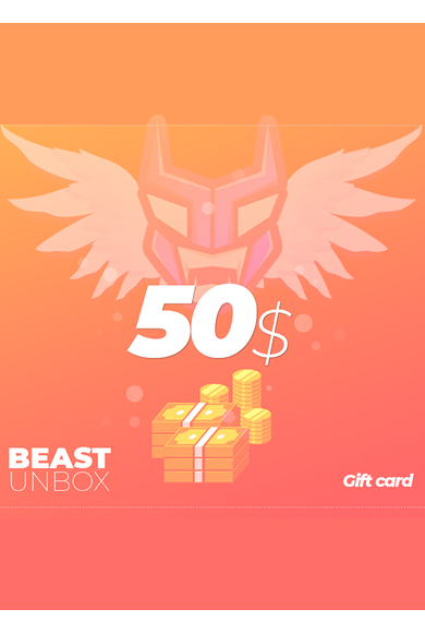 BeastUnbox.com Gift Card 50$ (USD)