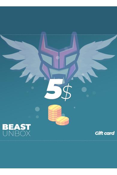 BeastUnbox.com Gift Card 5$ (USD)