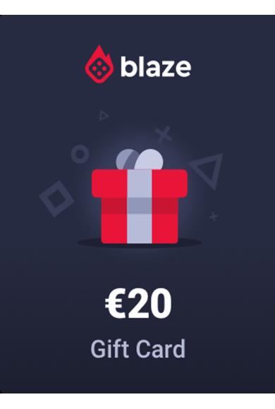Blaze.com Gift Card 20€ (EUR)