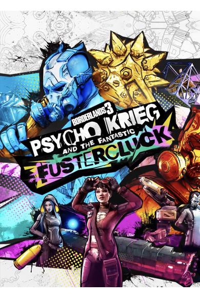 Borderlands 3: Psycho Krieg and the Fantastic Fustercluck (DLC)