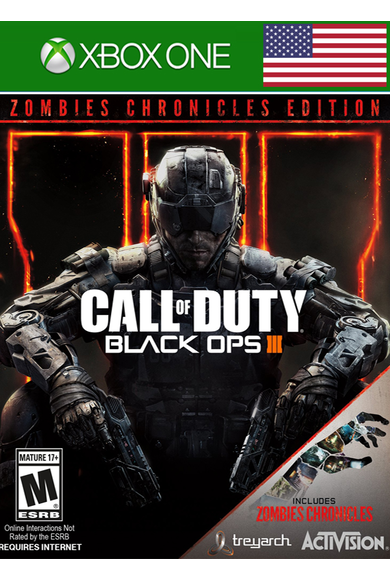 Call of Duty: Black Ops (3) III - Zombies Chronicles Edition (USA) (Xbox One)