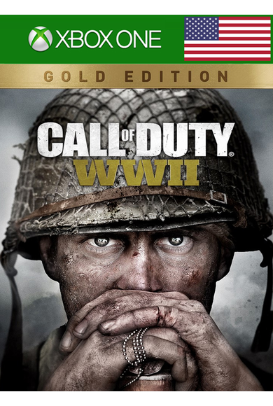 Call of Duty: World War 2 (WW II) Gold Edition (USA) (Xbox One)