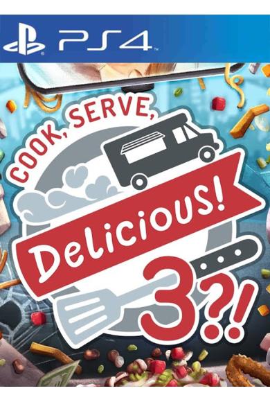 Cook, Serve, Delicious! 3?! (PS4)