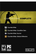 Counter-Strike: Complete (Condition Zero, Global, Source)