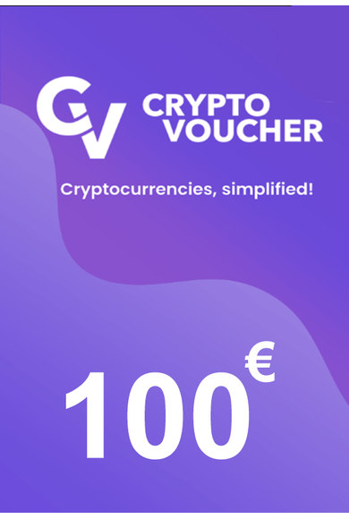 Crypto Voucher Gift Card 100 EUR