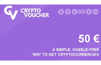 Crypto Voucher Gift Card 50 EUR