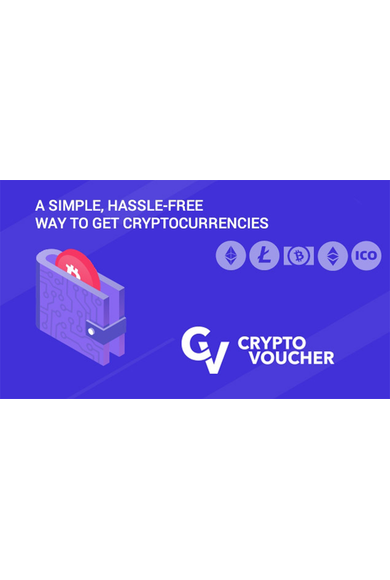 Crypto Voucher Gift Card 25 EUR