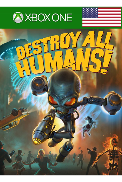 Destroy All Humans (USA) (Xbox One)