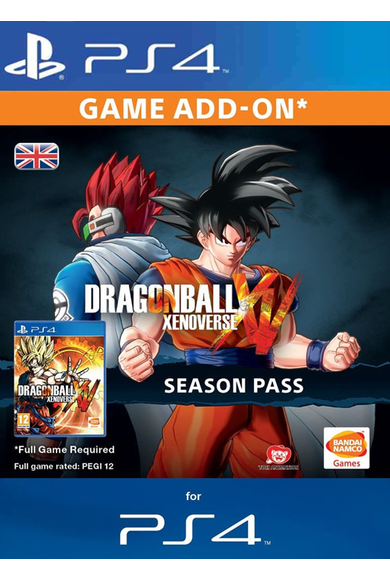 Dragon Ball: Xenoverse - Season Pass (DLC) (PS4)