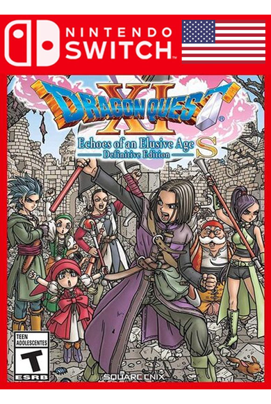 DRAGON QUEST XI S: Echoes of an Elusive Age - Definitive Edition (USA) (Switch)