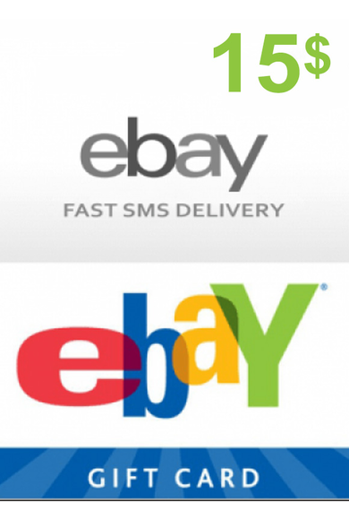 eBay Gift Card 15$ (USD)