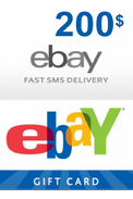 eBay Gift Card 200$ (USD)