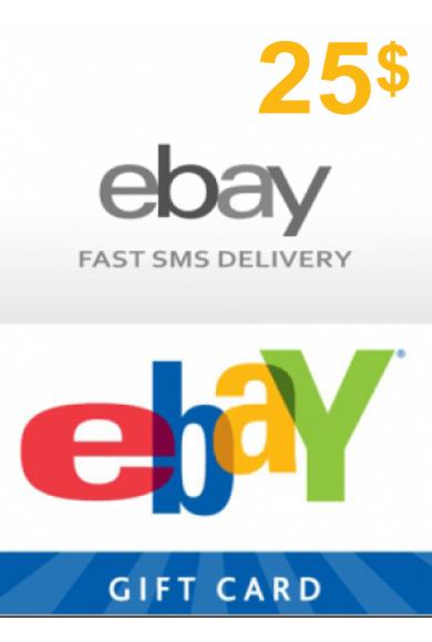eBay Gift Card 25$ (USD)
