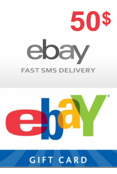 eBay Gift Card 50$ (USD)