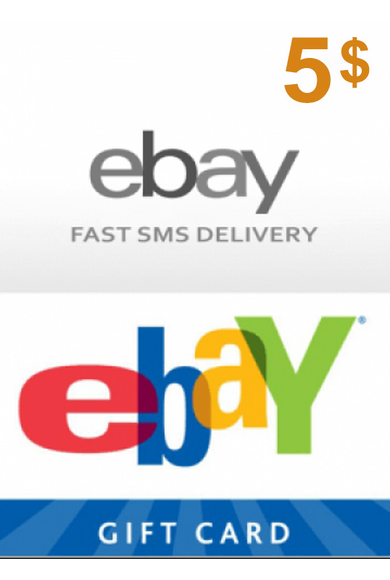 eBay Gift Card 5$ (USD)