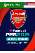 eFootball PES 2021: Season Update - Arsenal Edition (USA) (Xbox One)