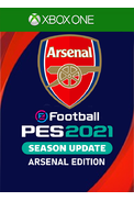 eFootball PES 2021: Season Update - Arsenal Edition (Xbox One)
