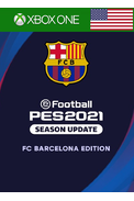 eFootball PES 2021: Season Update - FC Barcelona Edition (USA) (Xbox One)