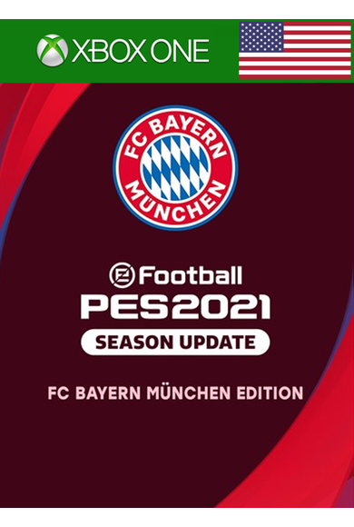 eFootball PES 2021: Season Update - FC Bayern München Edition (USA) (Xbox One)