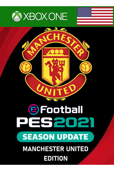 eFootball PES 2021: Season Update - Manchester United Edition (USA) (Xbox One)