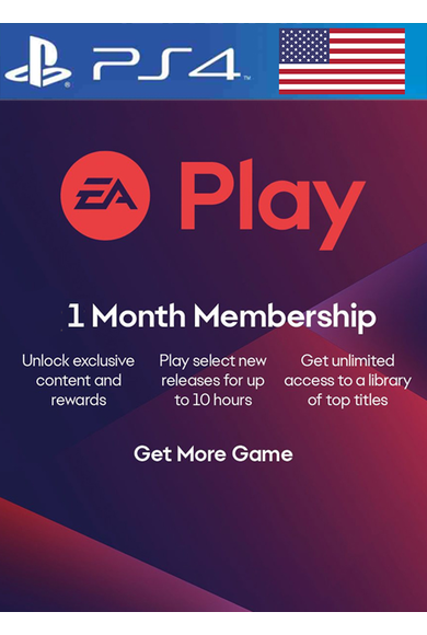 EA Play 1 Months Subscription (USA) (PS4)