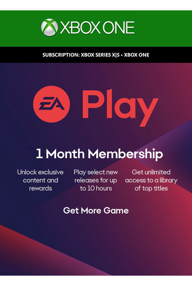 EA Play 1 Months Subscription (Xbox One)