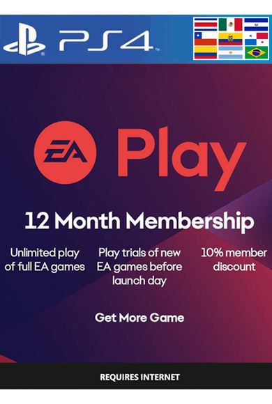EA Play 12 Months Subscription (LATAM) (PS4)