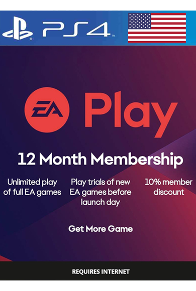 EA Play 12 Months Subscription (USA) (PS4)