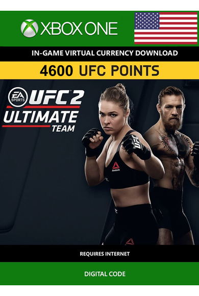 EA Sports UFC 2 Currency 4600 UFC Points (USA) (Xbox One)