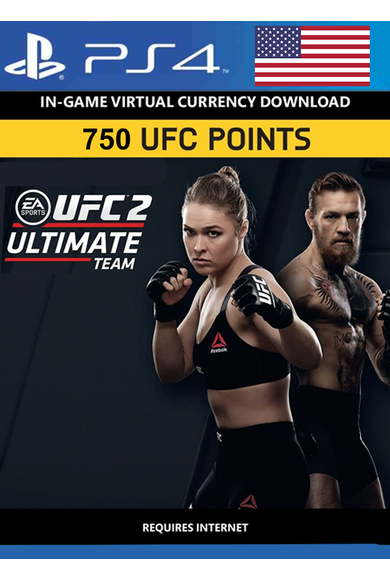 EA Sports UFC 2 Currency 750 UFC Points (USA) (PS4)
