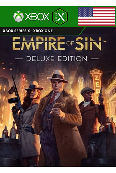 Empire of Sin - Deluxe Edition (USA) (Xbox One / Series X|S)