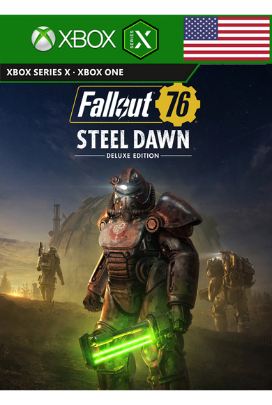 Fallout 76: Steel Dawn - Deluxe Edition (USA) (Xbox One / Series X|S)