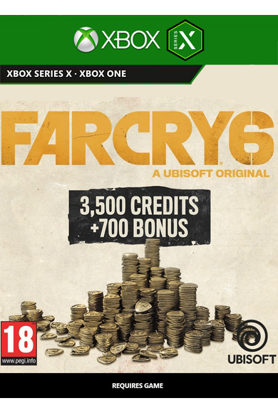 Far Cry 6 Large Pack - 4200 Credits (Xbox ONE / Series X S)