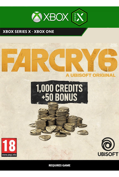 Far Cry 6 Small Pack - 1050 Credits (Xbox ONE / Series X|S)