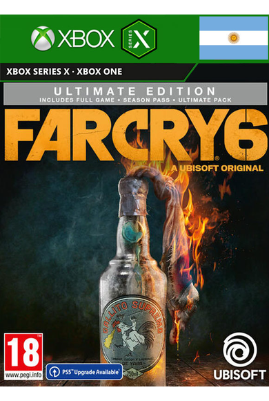 Far Cry 6 - Ultimate Edition (Argentina) (Xbox ONE / Series X|S)