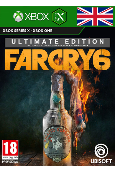 Far Cry 6 - Ultimate Edition (UK) (Xbox ONE / Series X|S)