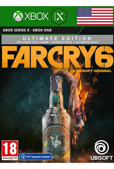 Far Cry 6 - Ultimate Edition (USA) (Xbox ONE / Series X S)